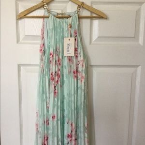 NWT Ted Baker Soft Blossom High-Low Dress Ted-1 S